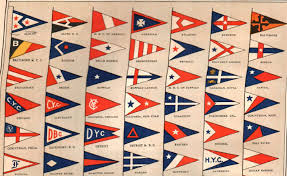 New Jersy Flag Yacht Club Flag Reference U2013 1914 Yacht Club Flags United States