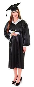 graduation robe bristol novelty ac396 graduation robe one size bristol novelty