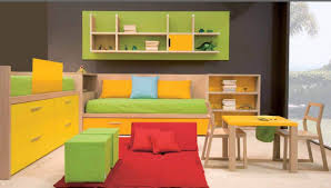 multifunctional furniture colorful kids bedroom with multifunctional furniture for comfy