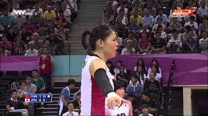 bong nu avc women 2014 semifinal japan vs china bong chuyen nu