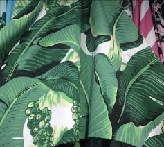 brazilliance banana leaf fabric dorothy draper u2013 willa skye home