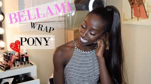 Pony Wrap Hair Extension by Bellami Wrap Ponytail 28 Inch 200grams Youtube