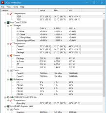 Cpu Info by 5 Laptop Temperature Monitor Apps For Checking Cpu U0026 Gpu Overheating