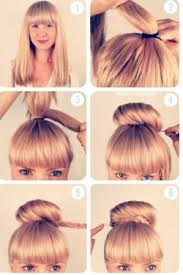 Hochsteckfrisurenen Selber Machen Pony by Best 25 Frisuren Selber Machen Ideas That You Will Like On