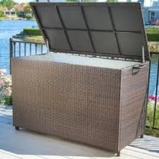 patio furniture cushion storage boxes foter