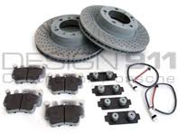 porsche boxster brake pads sports brake pads and brake disc package porsche boxster s