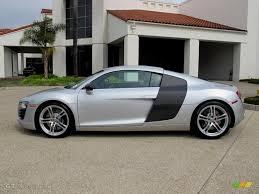Audi R8 Silver - ice silver metallic 2012 audi r8 4 2 fsi quattro exterior photo