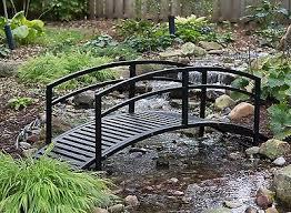 backyard bridges small metal garden bridges cori matt garden