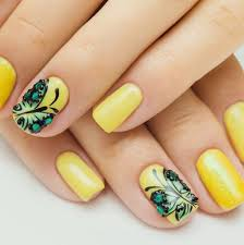 yellow butterfly nail grey yellow butterfly nail nail