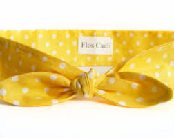 yellow headband yellow headband etsy