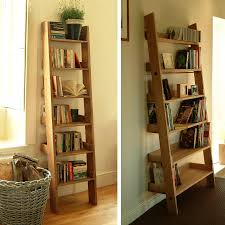Shelving Unit Decorating Ideas Functional Ladder Shelving Unit For Bookcases Together With Wooden