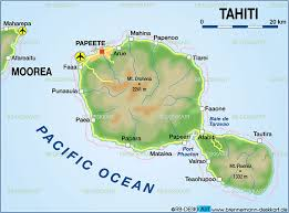 polynesia map of world map of tahiti polynesia map in the atlas of the world