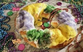 king cake delivery recipe mardi gras king cake with cheese and apple fillings