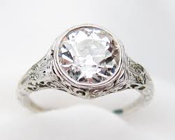 art deco engagement rings seattle washington