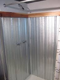 How To Plumb An Outdoor Shower - galvanized shower surround a complete how to bungalow bungahigh