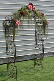 wedding arches and arbors rent me www sistersenvy arched metal arbor rustic wedding