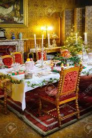 stately home interior dinner in a stately home stock photo picture and royalty