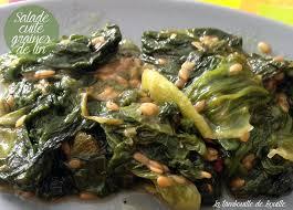 salade verte cuite recette cuisine repas simple et rapide la salade cuite la tambouille de bouille