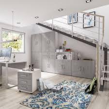 Schreibtisch Design G Stig Schreibtisch Berlin 150 Cm Beton Weiß Matt Büromöbel Günstig Kurze