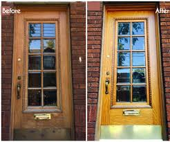 How To Build A Solid Wood Door How To Restore Your Old Wood Front Door 6 Steps With Pictures