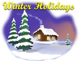 winter holiday scene clip art at clker com vector clip art