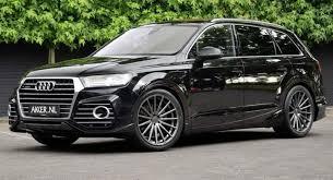 audi q7 tuning 22 inch vossen wheels at abt sportsline audi q7 4m qs7