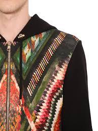 balmain jacket hood balmain zip up hooded cotton sweatshirt