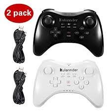 amazon wii u games black friday amazon com kulannder 2 pack wii u pro controller perfect gift