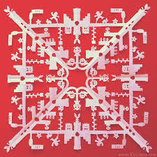 themed paper i create highly detailed pop culture themed paper cut snowflakes