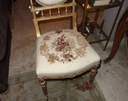Shabby Chic Vanity Chair Ornate Chair Etsy