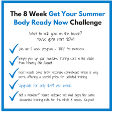 Challenge Rate The Enliven 8 Week Summer Challenge
