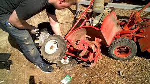 tine seal replacement troy bilt tiller youtube