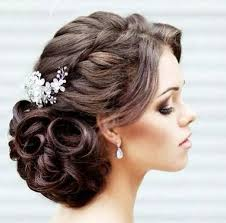 up style for 2016 hair simple side twisted braided updo hairstyle for girls hair