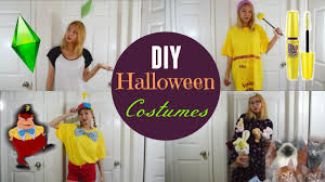 diy halloween costume 2017 diy halloween costumes for teens sims mascara tweedledee crazy