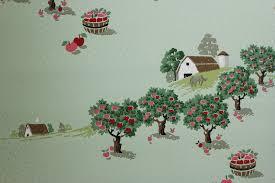 rosie u0027s vintage wallpaper history of kitchen wallpaper