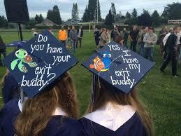 graduation caps for sale grad cap idea best friend grad caps exit buddy finding nemo