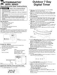 intermatic light timer manual timer instructions outdoor lighting perspectives