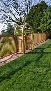 potomac fences u2013 custom gates and arbors