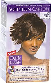 what color is sable hair color dark and lovely fade resistant brown sable permanent hair color