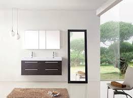 54 Bathroom Vanity Cabinet Virtu Usa Jd 50754 Wg 54 Inch Finley Double Sink Bathroom Vanity