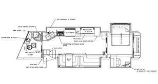 horse trailer living quarter floor plans lovely ideas 8 semi truck floor plans floorplans of villa country