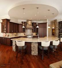 L Shaped Kitchen Island Ideas by Kitchen Room Cozy Brown Wooden L Shaped Kitchen Island For Your