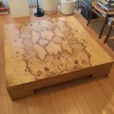 burl wood coffee table milo baughman coffee table modern coffee tables and accent tables