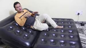 Air Sofa 5 In 1 Bed Bestway Air Sofa Bed 5 In1 Unboxing And Review By Star Guruji