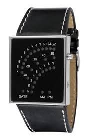 fashion cool men clock watch blue led watches luxury fashion