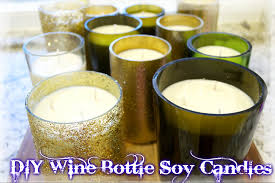 how to make candles last longer how to make soy candles out of old wine bottles miss bizi bee