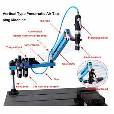 new m3 m16 universal type 360 degrees angle pneumatic air tapping