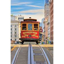 cityscapes wall murals cityscapes wallpaper murals wall decal cable car san francisco wall mural