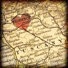 Map Of Siena Italy by 8x8 Map Of Florence Italy With A Heart Shape With A Grunge