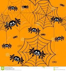 halloween vector background seamless pattern spider web